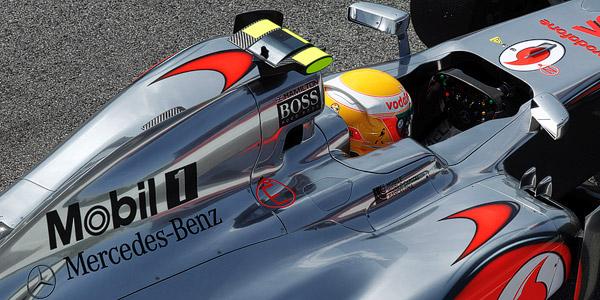 Hamilton kvalifikacije Spanija